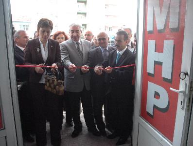 SABIT ÇEVIK - Seydişehir'de Mhp Seçim Bürosu Açıldı