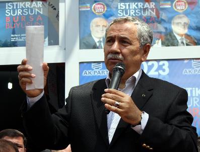 KANAL İSTANBUL - Bülent Arınç: Biz Siyasetimizi Kasetlerle, Ahlaksız İşlerle Yapmıyoruz