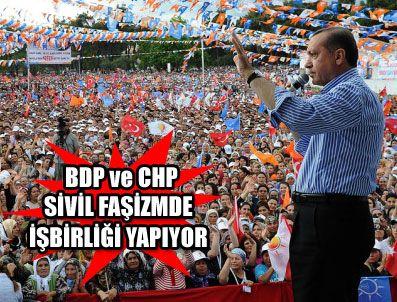 AHMEDI HANI - Başbakan Erdoğan beklenen Diyarbakır mitingini gerçekleştirdi
