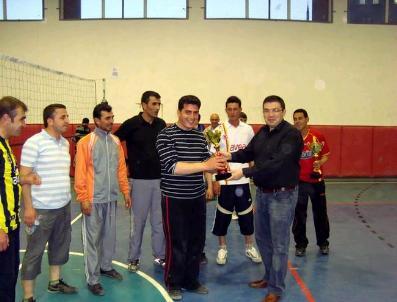 Otlukbeli'De Voleybol Turnuvası