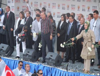Başbakan Erdoğan Mardin'de Halka Hitap Etti