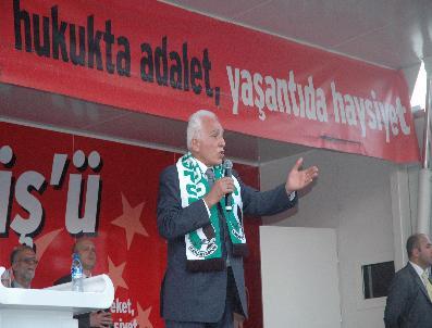 MILI GÖRÜŞ - Sp Lideri Kamalak Sakarya'da