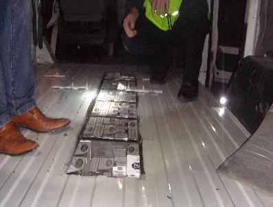 Çankırı'da 21 Bin 420 Paket Kaçak Sigara Ele Geçirildi