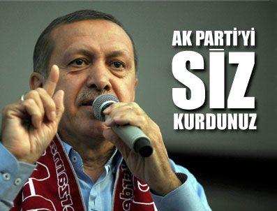 KANAL İSTANBUL - Başbakan Erdoğan Sivas'ta halka seslendi