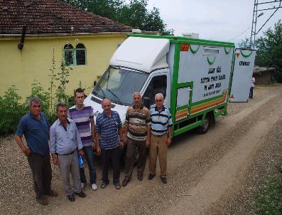 Köye Cenaze Yıkama Aracı