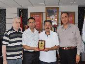 Başkan Berberoğlu'Na Teşekkür Ziyareti