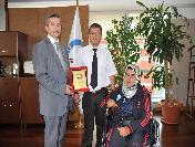 Başkan Tahmazoğlu'na Şampiyondan Teşekkür
