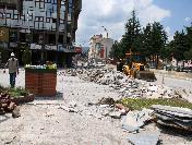 Bozüyük'Te Meydan Düzenleme Çalışmaları