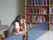 Kütüphanede Öğrenci Yoğunluğu