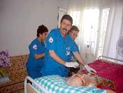 Salihli'de 26 Hasta Evinde Tedavi Ediliyor