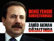 Zahid Akman ve 3 kişi gözaltına alındı