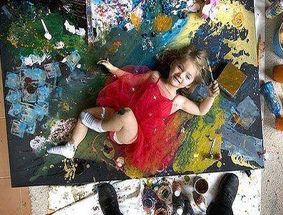 SİGMUND FREUD - 4 yaşında amma tabloları yok satıyor