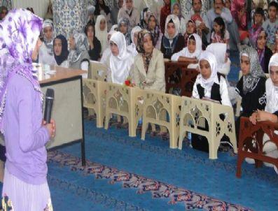 AHMEDI HANI - Yaz Dönemi Kız Kur'an Kursları Yarıştı