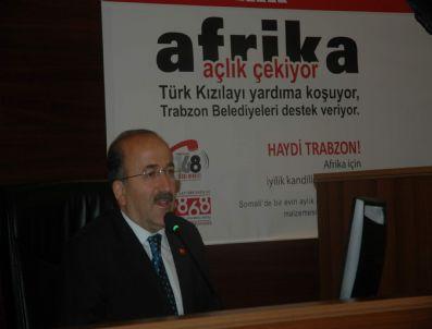 ETYOPYA - Trabzon'daki Belediyeler Afrika İçin Harekete Geçti
