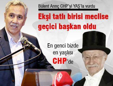 ŞÜKRÜ ELEKDAĞ - Bülent Arınç CHP'yi YAŞ'la vurdu