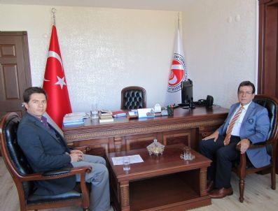 MEHMET SEYMAN - Vali Yardımcısı Seyman'dan Veda Ziyareti