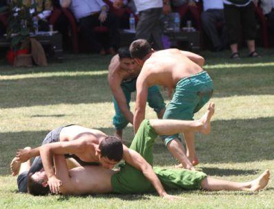 58. Zengibar Karakucak Güreş Festivali Başladı
