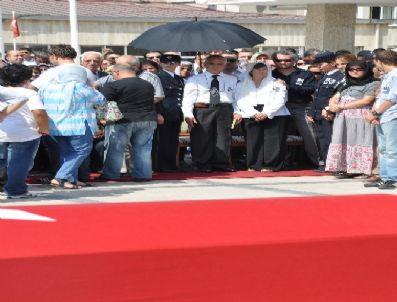 ASMALı MESCIT - Edirneli Şehit Komiser Cem Kerman Son Yolculuğuna Uğurlandı