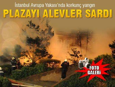 SÜLEYMAN SEBA - BJK Plaza'da korkutan yangın