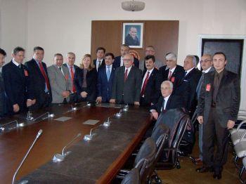 ABDULLAH KARAKUŞ - Esob Üyeleri Tbmm'yi Ziyaret Ederek Sorunlarını Milletvekillerine İletti
