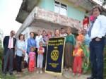 MUSTAFA GÜR - Astım Hastası İki Kızı İle Yaşam Mücadelesi Veren Anneye Rötary Kulübü Sahip Çıktı