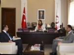 BEDRETTIN ÖZMEN - Hacıbektaş ve Acıgöl Kaymakamlarından Rektör Kılıç'a Ziyaret