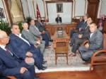Ziraat Odası Başkanlarından Vali Çakacak'ı Ziyaret Etti