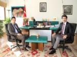 Otlukbeli Kaymakamı Tekin'den Başkan Çakır'a Ziyaret