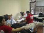 Uğurludağ Kaymakamı Gümüşçüoğlu'ndan Kan Bağışı