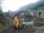 Ulubey'deki 2 Tarihi Köprünün Restorasyonu Bitmek Üzere