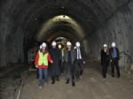 Vali Özcan İlgaz Dağı Tüneli Çalışmalarını İnceledi