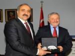 Ağrı Belediye Başkanı Hasan Arslan'dan Trabzon Belediyesi'ne Ziyaret