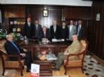 MUSTAFA HOTMAN - Eğitim-bir-sen Üyeleri Kocasinan Kaymakamı'nı Ziyaret Etti