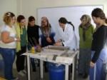 EBRU SANATı - Gediz'de Ebru Sanatı Kursuna Büyük İlgi