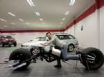 OTOMOBİL GALERİSİ - Hurda Malzemeyle Batman Motosikleti Yaptı