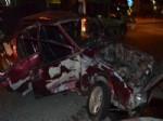 RAHMI TEKIN - Turgutlu'da Trafik Kazası: 3 Yaralı