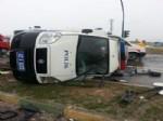 Konya'da Trafik Kazası: 3'ü Polis, 5 Yaralı