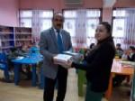 İlkokul Öğrencileri Emniyet Müdürlüğü ve Kütüphane'yi Gezisi