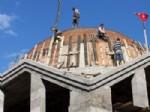 KURTLAR KÖYÜ - Kdz. Ereğli'de Kurtlar Köyü Cami İnşaatı Sürüyor