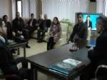 ABDULLAH KARAKUŞ - Ak Parti İlçe Yönetimi Emniyet Müdürünü Ziyaret Etti