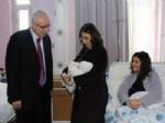 Ortaköy Kaymakamı Uyan'ın Bebek Sevinci