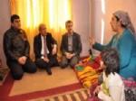 ŞAMİL TAYYAR - Milletvekili Şamil Tayyar İle Başkan Fadıloğlu Yoksul Aileleri Unutmadı
