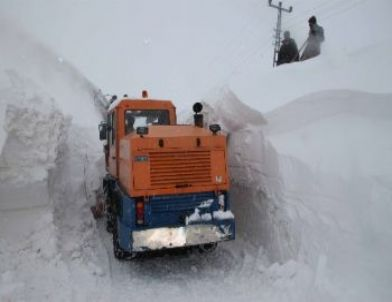 Bitlis'te Karla Mücadele İl Özel İdare Yetililerini Çileden Çıkardı
