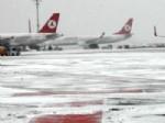 ALMATI - Elverişsiz Hava Koşulları Ulaşımı Da Etkiledi