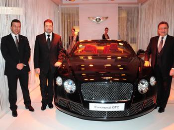 Yeni Bentley Continental Gtc, Lüks Otomotiv Tutkunlarının Karşısına Çıktı