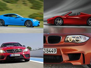2012 Yılının En Popüler Otomobilleri