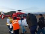 Doğum Hastasının İmdadına Ambulans Helikopter Yetişti