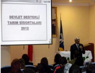 Aydın'da Tarım Sigortaları 2012 Uygulama Toplantısı