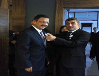 Başkan Özhaseki'ye Vergi Haftası Ziyareti