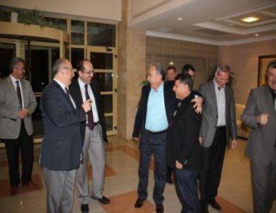 Belediye Başkanları Kuzuluk'ta Bir Araya Geldi